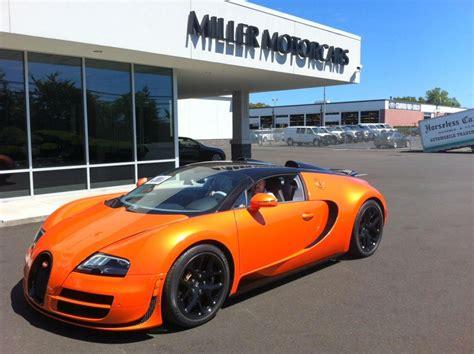 meer fotos oranje bugatti veyron grand sport vitesse