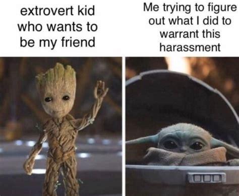 relatable memes  introverts barnorama