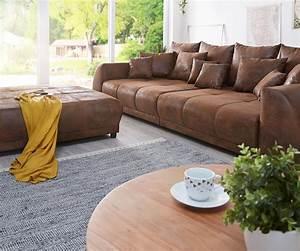 Big Sofa Mit Hocker : big sofa violetta 310x135 braun antik optik hocker kissen m bel sofas big sofas ~ Yasmunasinghe.com Haus und Dekorationen