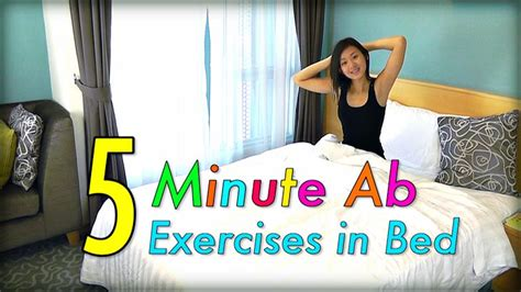 5-minute Ab Exercises In Bed