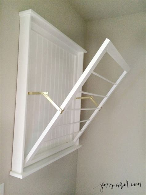 wall mounted laundry drying rack folding wall clothes hanger home design