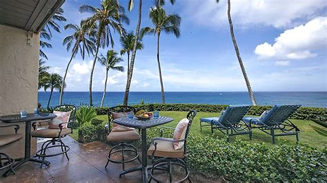 kauai cottage rentals poipu makai has new oceanfront kauai vacation rental