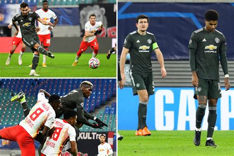Leipzig 3 Man Utd 2: Red Devils dumped out of Champions ...