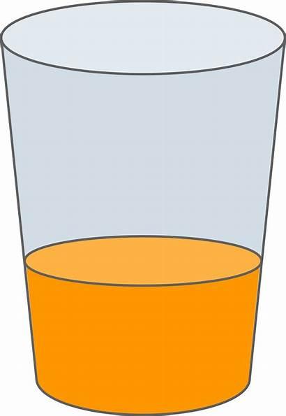Juice Glass Clipart Orange Svg Clip Oranje