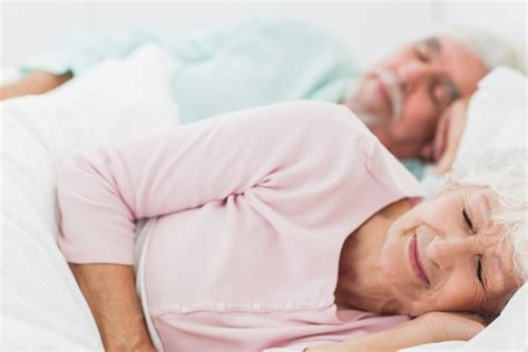 The Importance Of Sleep For Older People