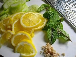 Имбирь огурец и лимон средство для похудения