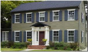 Exterior Window Color Schemes by Classic Colonial Paint Color Ideas House Painting Tips Exterior Paint In