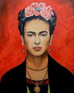 Frida Kahlo Painting by Elena Day