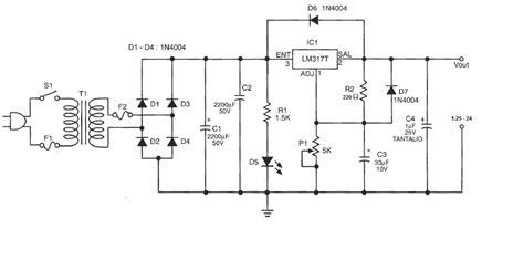 electronica facil fuente de voltaje variable
