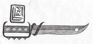 Knife Drawing by Armork66 on DeviantArt