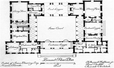 center courtyard house plans hacienda house plans house plans with