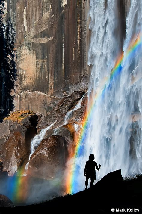 award winner vernal falls rainbow photo art print