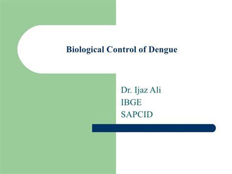 Biological Control Of Dengue