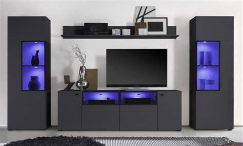 bureau noir laqué pas cher meuble tv haut gris