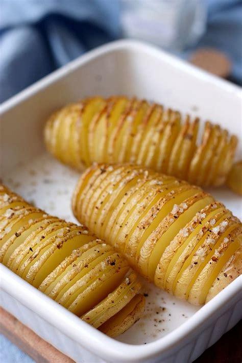 cuisiner la pomme pomme de terre éventail hasselbackspotatis