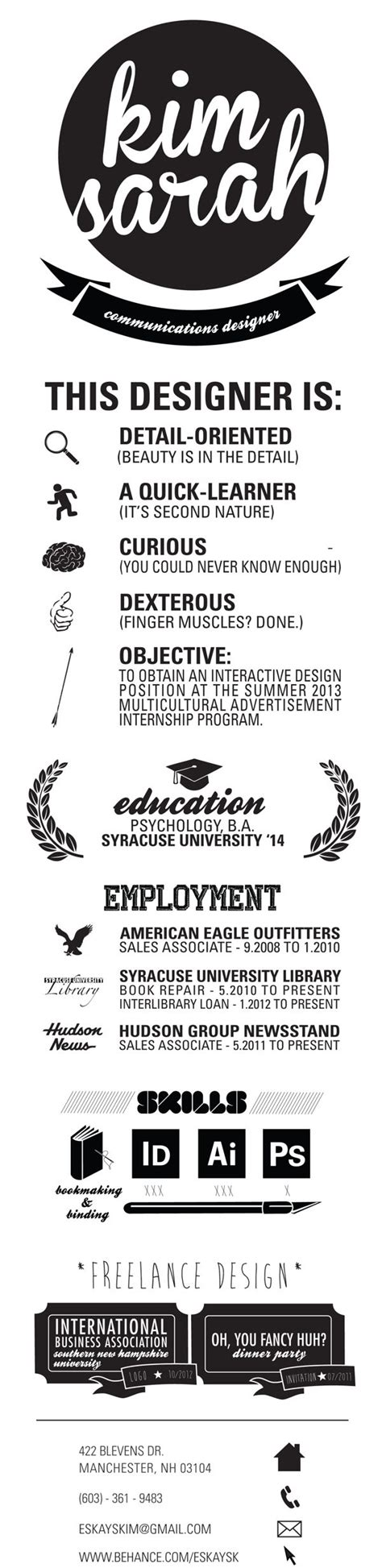 Design Resume Fonts by Best 25 Graphic Designer Resume Ideas On