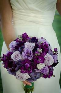 Purple And Grey Wedding Bouquets Grey And Purple Wedding