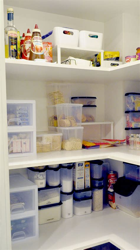 inexpensive area creating an organised pantry on a budget the organised