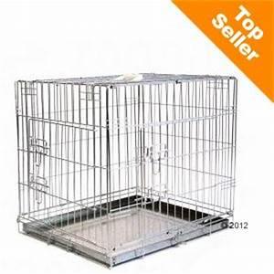 Grande Cage Pour Chien : double door cage de transport pour chien zooplus ~ Dode.kayakingforconservation.com Idées de Décoration