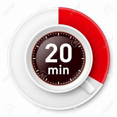 Minute Minutes Break Coffee Management Twenty Background