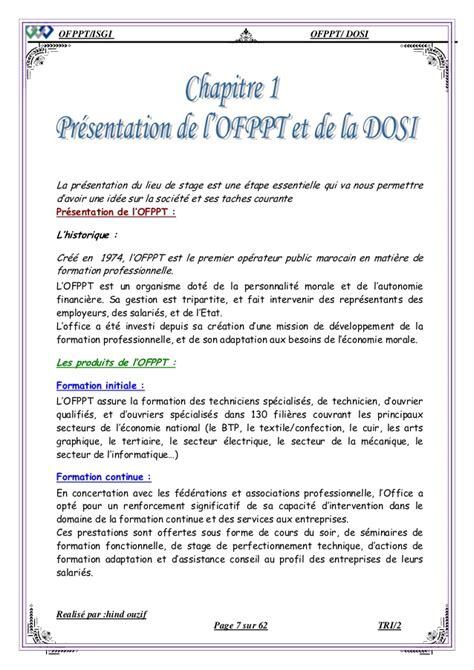 rapport de stage cuisine collective rapport de stage ofppt comptabilite pdf amma