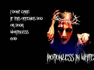 Motionless In White-Immaculate Misconception Lyrics - YouTube