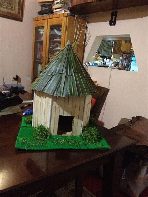 arawak hut school project school projects projects decor