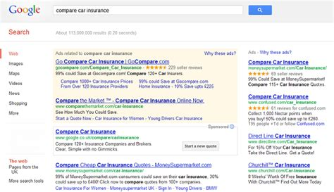 Google Launches Car Insurance Comparison Tool
