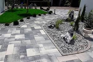 Weggestaltung Im Garten : pin by laura berger on garten und haus pinterest gardens paving slabs and side yards ~ Yasmunasinghe.com Haus und Dekorationen