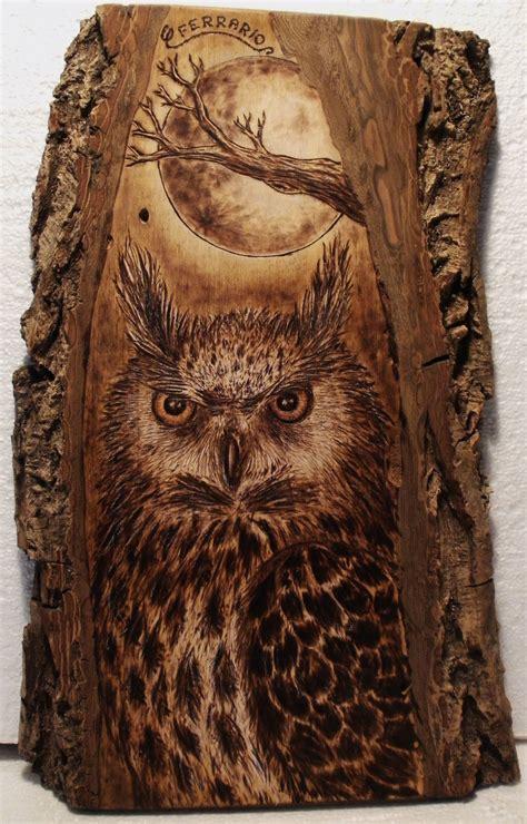 impressive   owl   wood  wood