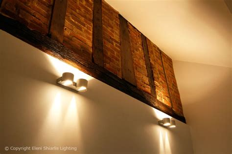 lighting design for a modern barn conversion residential