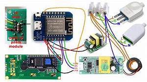 Pzem004t  Wemos D1 Mini And A 1602 I2c Display  U00b7 Arendst  Sonoff