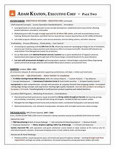 executive chef resume amplifiermountainorg With chef resume examples