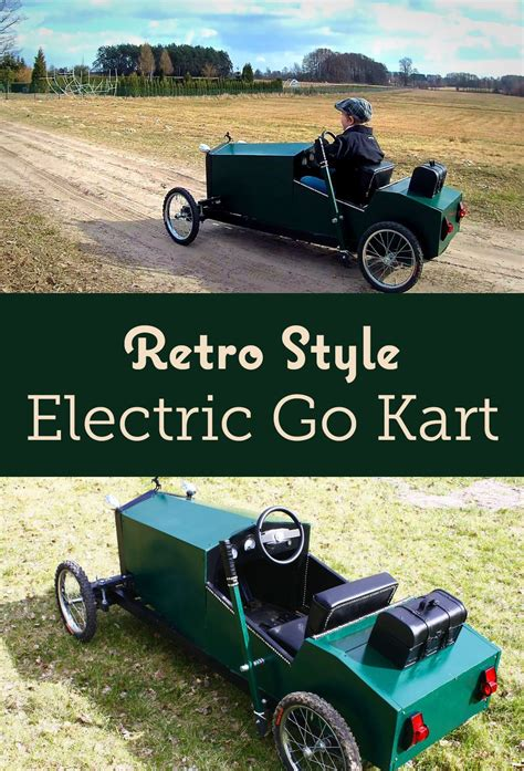 electric  kart  retro style  kids electric