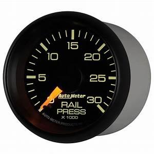 Autometer 2 16 U0026quot  Fuel Rail Pressure  0