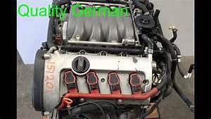 2004 Audi A8 Audi Engine    Motor 4 2l V8 Code Bfm