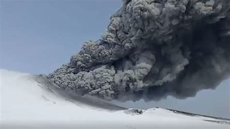 Pure Surprise Scientists Marvel Kamchatka Volcano