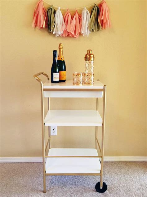 Ikea Kitchen Ideas - ikea hack bar cart home decor ikea