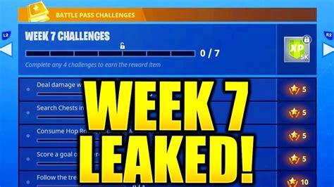 fortnite week 7 challenges fortnite season 5 week 7 challenges leaked week 7 all