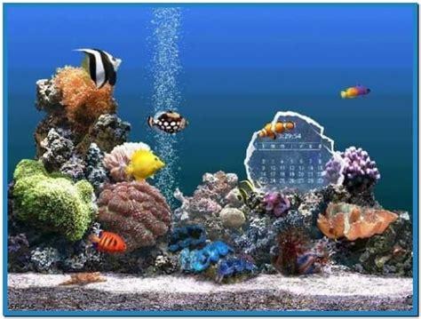 Living Marine Aquarium 2 Animated Wallpaper - 3d fish aquarium screensaver car interior design