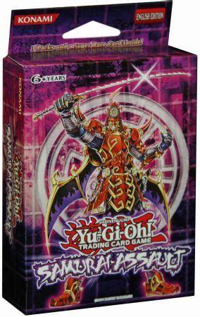 Six Samurai Assault Structure Deck by Yu Gi Oh Special Edition Samurai Assault