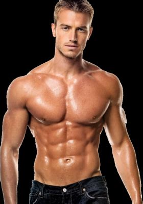 guy sexy muscle building supplements