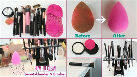clean beauty blender sponge brushes  solid