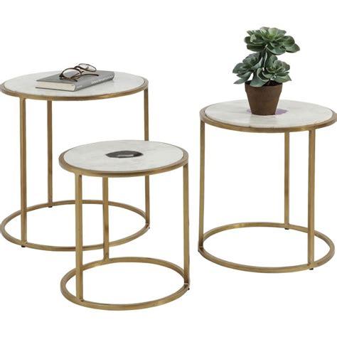 table d appoint tables d appoint en marbre limbo kare design