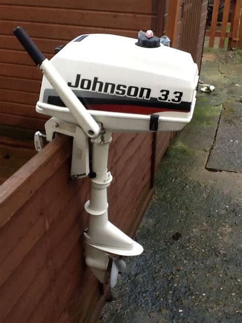 3 Hp Johnson Boat Motor by 1998 Johnson 3 3hp Outboard Motor Boat Engine Dinghy
