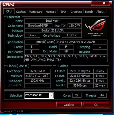 xeon motherboard e5 2696 v4 recommended