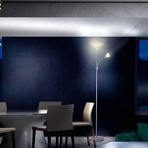 Lampe Für Wohnzimmer : stehlampe stehleuchte wohnzimmer lese lampe deckenfluter b ro lichts ule auswahl ebay ~ Eleganceandgraceweddings.com Haus und Dekorationen