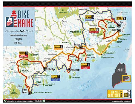 Bike Maine, September 8-15, 2018