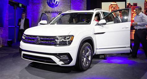 Vw Atlas Size by New Vw Atlas To Start At Around 30 000 Top At 48 000
