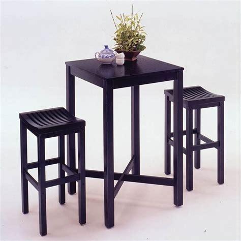 home styles furniture contour black table bar stool pub